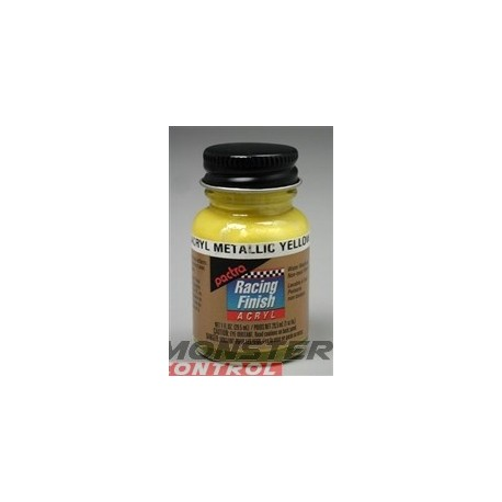 Pactra Acrylic 1 oz. Metallic Yellow
