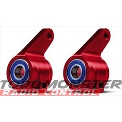 Traxxas Aluminum Steering Block Red for the Rustler/Stampede/Ban