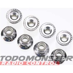Traxxas Nylon Locknuts 5MM (8)