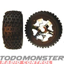 Hostile Racing Baja 5B Mini Mx Soft Fronts (2 Tires only-no whee