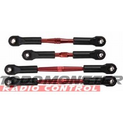 Traxxas Turnbuckle Set Rustler/Stampede Alum Red