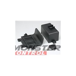 Traxxas Rear Bumper Battery Box Clips. Stampede