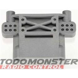 Traxxas Bulkhead Rear Gray Nitro Stampede/Rustler