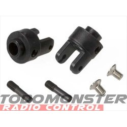 Traxxas Differential Output Yokes Black (2)