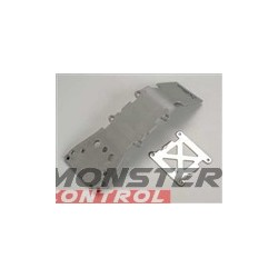 Traxxas Skidplate/Front Plastic Grey