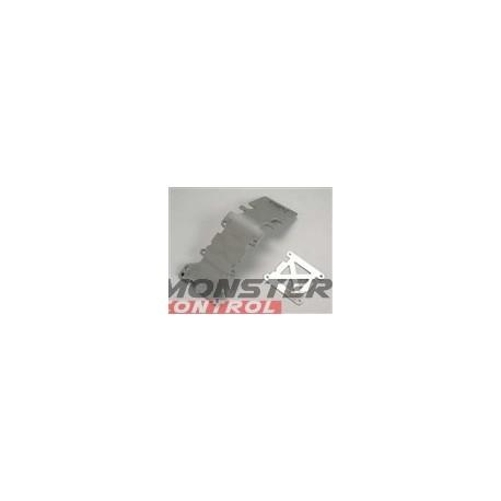 Traxxas Skidplate/Rear Plastic Gray T-Maxx 3.3