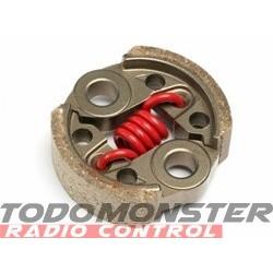 HPI High Response Clutch Shoe/Spring Set 8000 rpm/Red