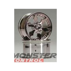 HPI Spike Monster Wheel Black Chrome 83X56MM (2)