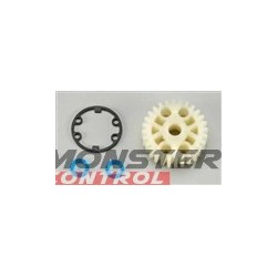 Traxxas Gear Center Differential Revo