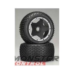 HPI Dirt Buster Block Tire S Compound Black Wheel Baja
