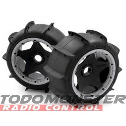 HPI Mounted Sand Buster Paddle Tire M Compound Baja 5B