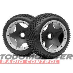 HPI Racing Dirt Buster Block Tire HD Compound/Blk Wheel