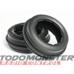 HPI Sand Buster Rib Tire M Compound (170X60Mm/2Pcs)