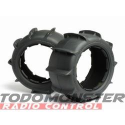 HPI Sand Buster Paddle Tire M Compound (170X80Mm/2Pcs)