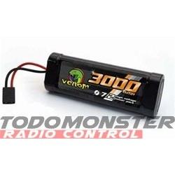 Venom 7.2V 6C 3000mAh NiMH Stick Traxxas Connector