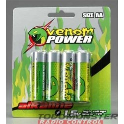 Venom Power AA Alkaline Battery (4)