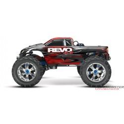 Traxxas '09 Revo 3.3 4WD Nitro Monster Truck! w/2.4Ghz & REVERSE