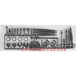 HPI Shock Parts & Link Set Nitro Mt-2