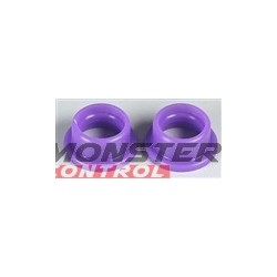 HPI .21 Savage Shaped Exhaust Gasket (2) Purple