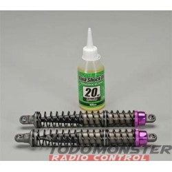 HPI Aluminum Threaded Shock Set 137-207MM Baja (2)