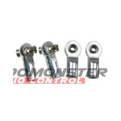 Imex Alum Chrome Tie Rod Ends Revo