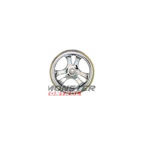 Imex 44 Series Romulin Chrome Silver Rims (2)