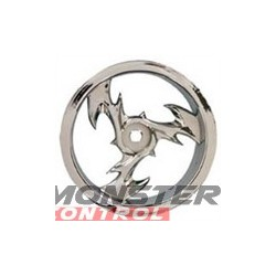 Imex 2.2 Bey Nitro Rear Rustler/Stampede Rims Chrome