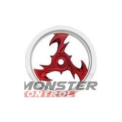 Imex Bey Nitro Rustler/Stampede Rear Chrome Sil/Mtr