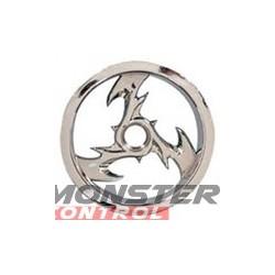 Imex 2.2 Bey Nitro Front Rustler/Stampede Rims Chrome
