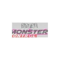 Dubro Body Klip Retainers Pink (2)