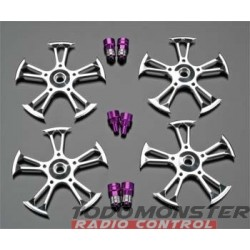 Integy Spinner T/E-Maxx/Revo/MGT/Savage (4)