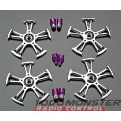 Integy Spinner T/E-Maxx/Revo/MGT/Savage (4)