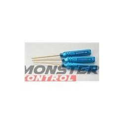 Integy ProGrip Hex Wrench Standard Set Blue (3)