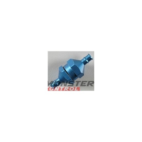 Dubro In-Line Fuel Filter Blue