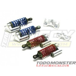 Integy Msr6 Piggyback Shock Set (4) Revo Silver