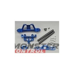 Integy Rear Body Mount Support Blue For T3106B