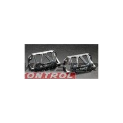 Integy Alloy Left & Right Servo Guard Revo Silver