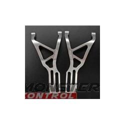 Integy Alloy Front Lower Arm L & R Revo Silver