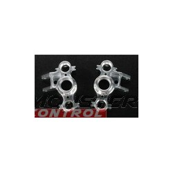 Integy Alloy Steering Block Left & Right Silver Revo