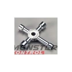 Dubro 4 Way Socket Wrench