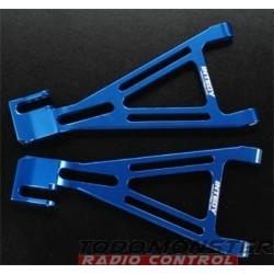 Integy Alloy Rear Left & Right Lower Arm Revo Blue