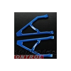 Integy Alloy Rear L & R Upper Arms Revo Blue