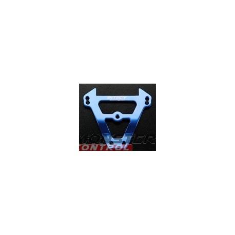 Integy Alum Lgw Front Bulkhead Tie Bar Revo Blue