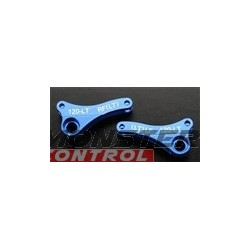 Integy Alloy 120L Front Left/Right Rocker Arm Blue Revo