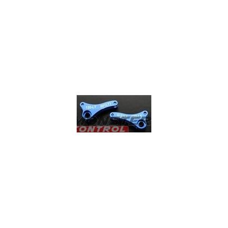 Integy Alloy 120L Front Left/Right Rocker Arm Blue Revo