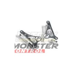 Integy front rocker arms are constructed of alloy and blue in co