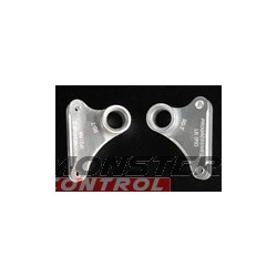 Integy Alloy Pro2 Rear L/R Rocker Arm Silver Revo