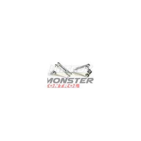 Integy Alloy 90T Pro3 Frnt Rocker Arms Revo Silver