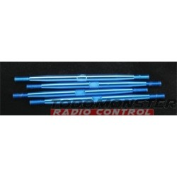 Integy Aluminum Standard Pushrod Revo (4) Blue