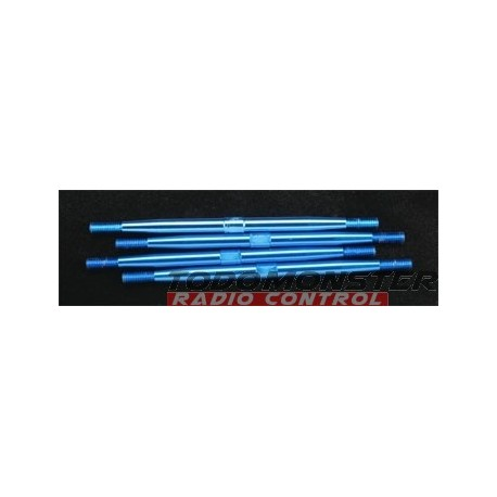 Integy Aluminum Standard Pushrod Revo (4) Blue